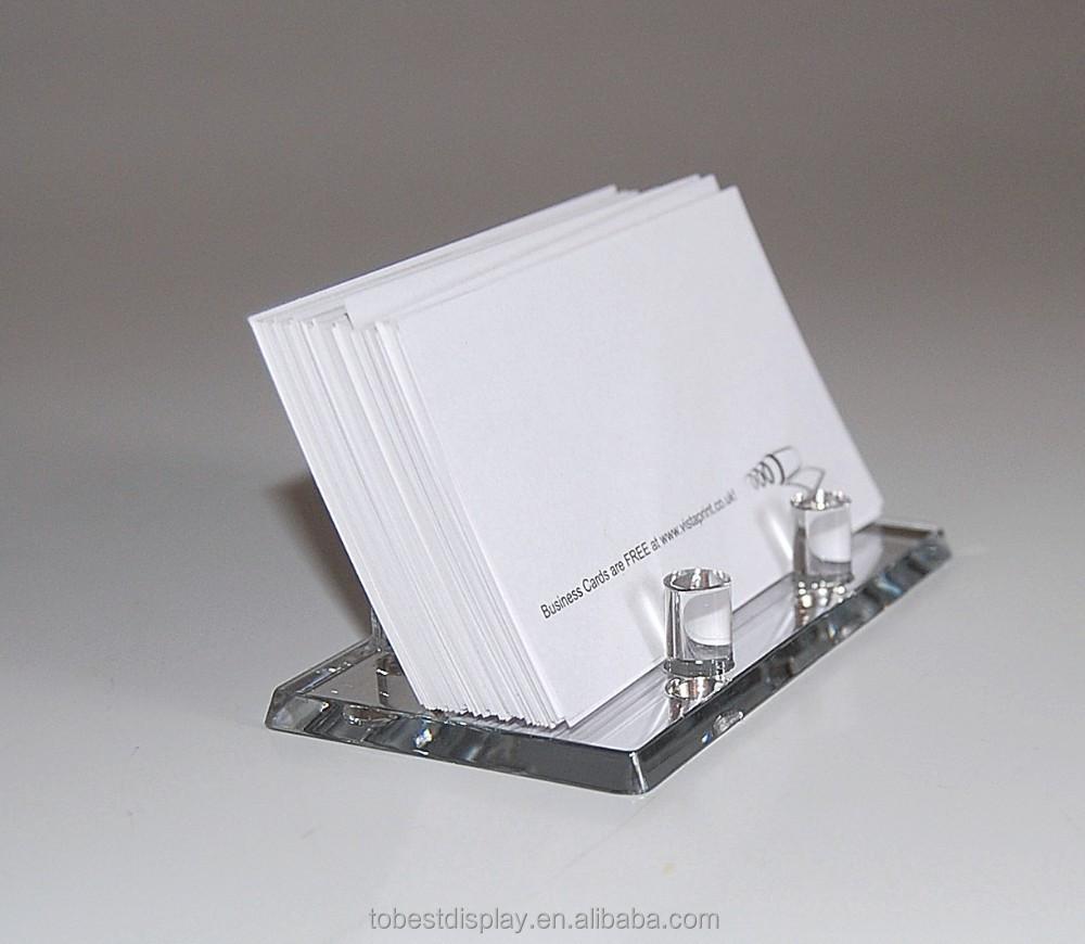 new fancy popular acrylic name card holdername card box