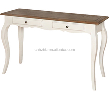 Hot selling white luxury french style console table hobby lobby tables