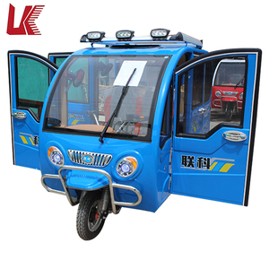 commercial tricycles for passengers/new model electric tricycle taxi/enclosed electric tuk tuk for sale