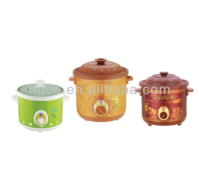 Electrical Ceramic stew pot for slow cooker
