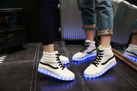 2016 new LED luminous yezzy shoess,cheap sneaker LED shoes,LED sport shoes