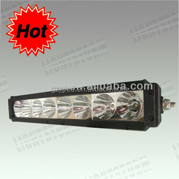 JGL hot! cheap price led lighting bar for bus police car SUV headlight bar cree 10w 20inch