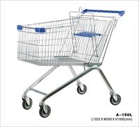 europe supermarket shopping trolley 150L