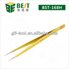 BST-168H Super Fine Point Tip Stainless Steel Eyelash Tweezers