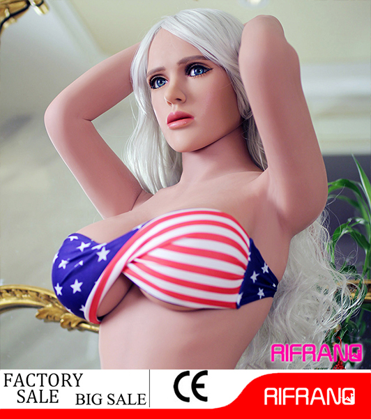 Hot selling 158cm life-size silicone sex doll for men