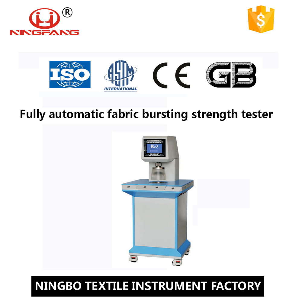 Automatic Fabric Pneumatic Bursting Strength Tester Price
