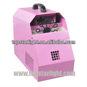 bubble machine cheap/New mini bubble machine led effect machine (pink color)