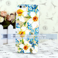 Flower Design High Quakity Mobile Phone Cover For Apple 6 wholesale
