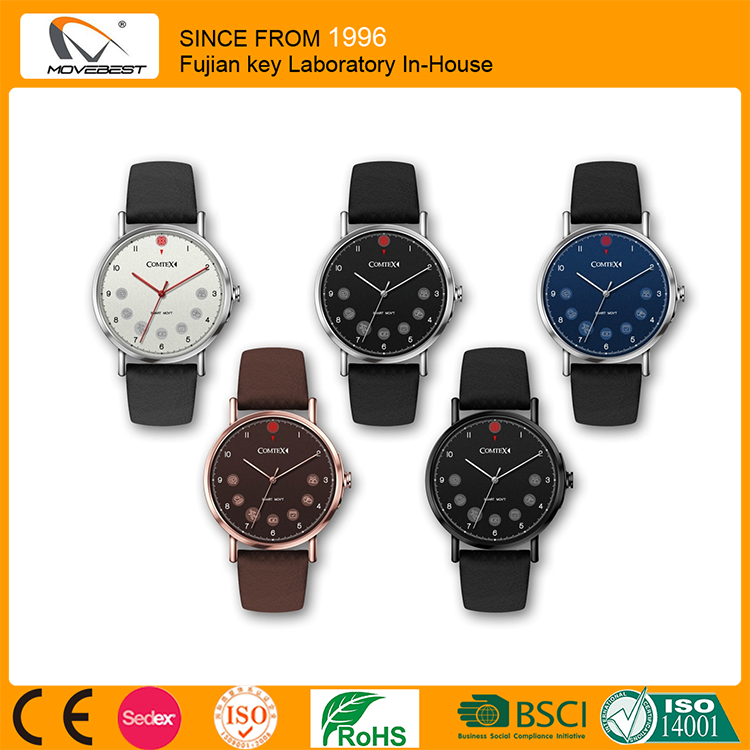 Lastest Popular Cheap Bluetooth Watch, Sport Water Resistant Bluetooth Smart Watch