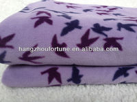 100% Polyester Polar Fleece Blanket,Print Leisure Blanket