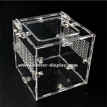 wholesale acrylic reptile cages with breath holes