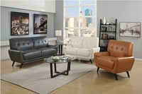 Latest design sala leather sofa sets furniture for club used