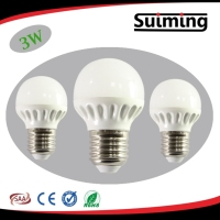 3w pc china led e27 energy saving bulb lights