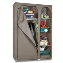 Portable multifunctional pp non woven cloth folding fabric wardrobe closet