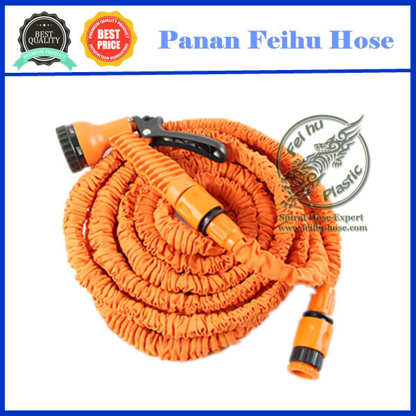 2018 hose expanding garden water hose pipe,brass fitting garden hose, water flexible garden hose