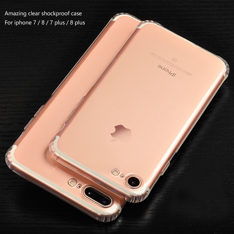 DFIFAN Phone Accessories Soft TPU Case for Apple iphone 8 case tpu for iphone 8 case clear shockproof