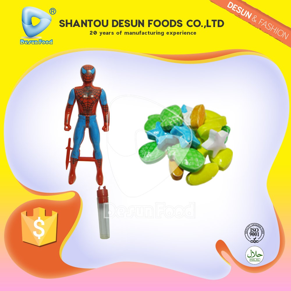 Cartoon man sweet candy toy