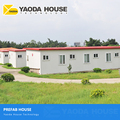 China Sandwich Panel One Floor Prefabricated House Structure Construction Prefab Modular Prefabricated Office Building For Sale