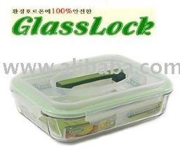 Glass Lock with handy