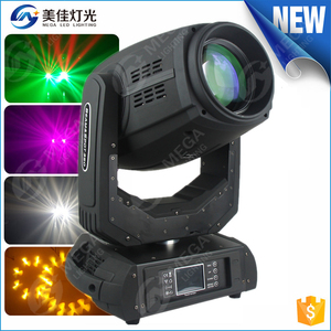 High power sharpy 350w 17r beam spot wash 3 in 1 moving head light