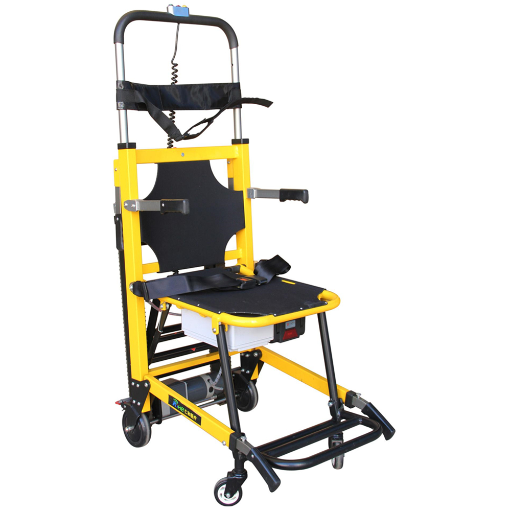 Lightweight electric foldable stair climbing electric for Motorized wheelchair stair climber