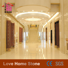 2016 new artificial stone beige marble royal botticino slab