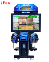 Ghost Squad Coin Operated Indoor Electronic Simulator Gun Shooting Target TV Arcade Games Machine