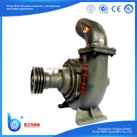 100 hp diesel engine and 6 inch sand suction water pump for irrigation