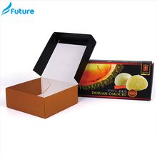 Wholesale creative black paper box small packaging cardboard boxes