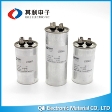 Aluminum AC CBB65 35uF 450V Air conditioner capacitor