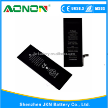 China Factory wholesale mobile phone battery for iphone 6 and battery for 6 plus battery replacement