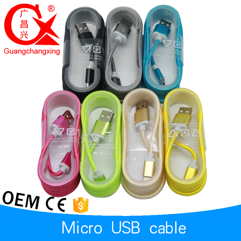 wholesale high speed nylon braided usb data cable,usb cable,micro usb cable