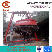 Scrap lift magnet for excavator