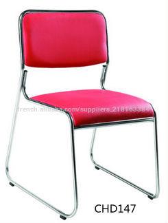 Pu cuir vente chaude design moderne et simple des chaises - Roue de chaise de bureau ...