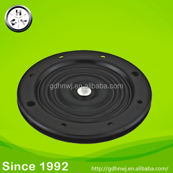 Round metal lazy susan swivel plate top turntable for dinning table