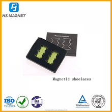 Supply no-tie magnetic shoe closures of magnetic shoelaces creative buckle easy opening and closing