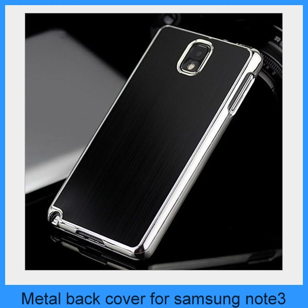 New Brushed Metal Luxury Case Battery Cover for Samsung Galaxy Note 3 III N9000