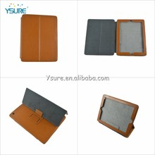 Fashion design stand leather smart cover for microsoft surface tablet cover