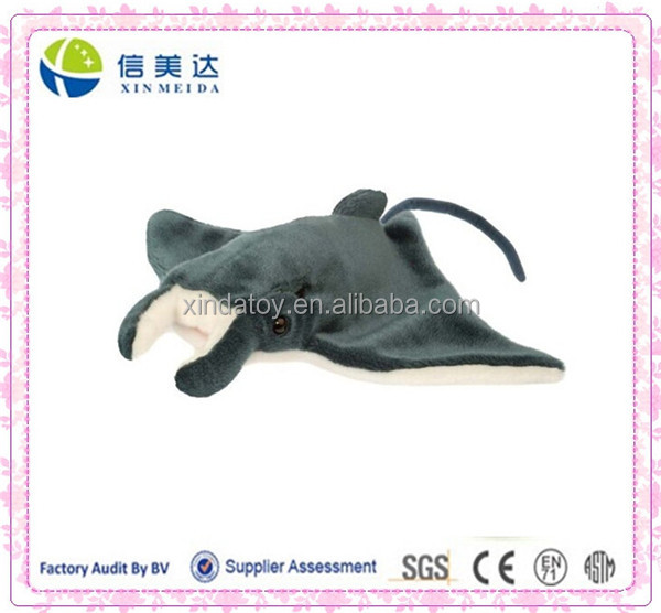 Custom ray manta plush toy