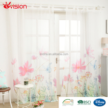 New arrival factory price polyester fabric simple living room partition curtain design