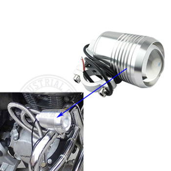 OVOVS motorcycle Headlights 12W 12V <strong>U2</strong> fog spot head <strong>lights</strong> lamp silver black motorcycle lamp
