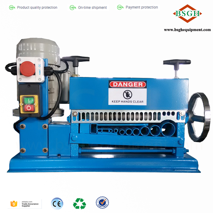 Wire And Cable Automatic Stripping Machine Scrap Copper Electric ...