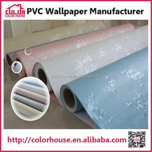 modern project decoration vinyl wallcovering wallpaper
