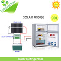 Hot Sale!90L Double Doors 12V Solar Refrigerator with Solar System