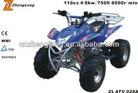 2015 new design mini quad 110cc atv