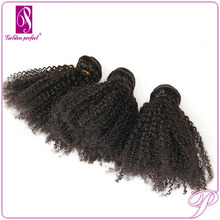 28 Inch Afro Curl Weave Virgin Indian Weft Harmony Hair Extension