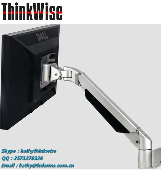 Think Wise S103 Ergonomic wall mounted TFT VESA display stand