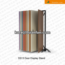 D013--Wholesale door display stand door showcase