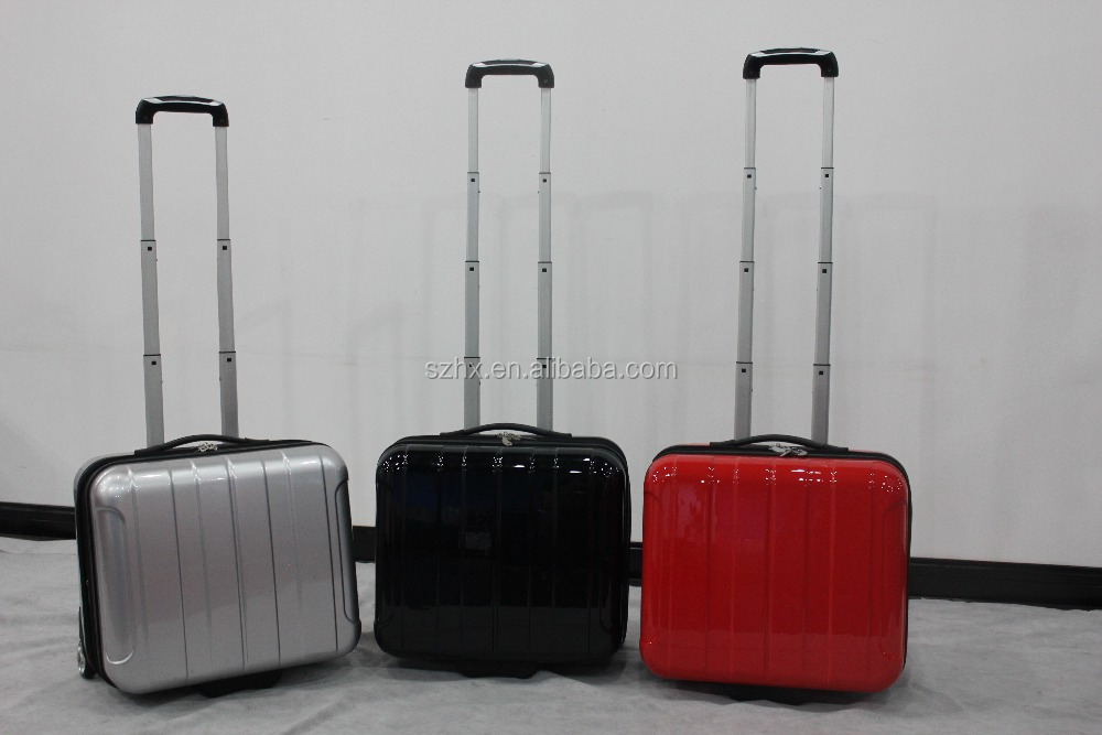 2015 new design ABS/pc travel luggage zipper frame/business bags for boarding