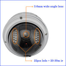 2013 new WIFI HD 720P 2.0 Megapixel CMOS 30M IR 720p hd video camera
